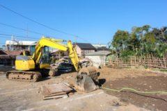 基礎工事の重要な工程!掘削工事について